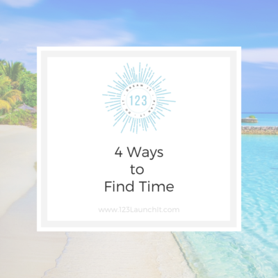 4 Ways to Find Time