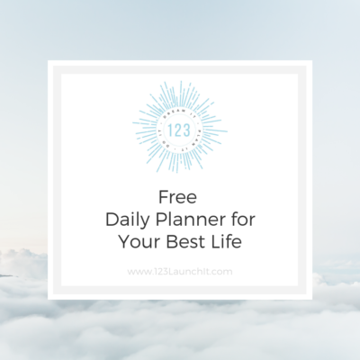 Free Daily Planner for Living an Intentional Life!