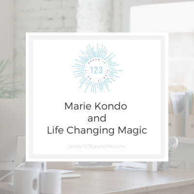 Marie Kondo and Life Changing Magic